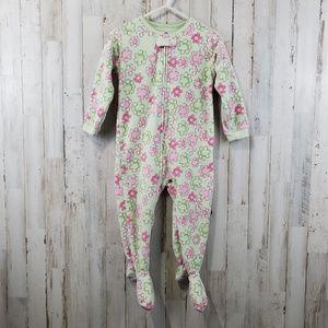 Carter's Baby Girls Fleece Footie Pajamas 18 Month